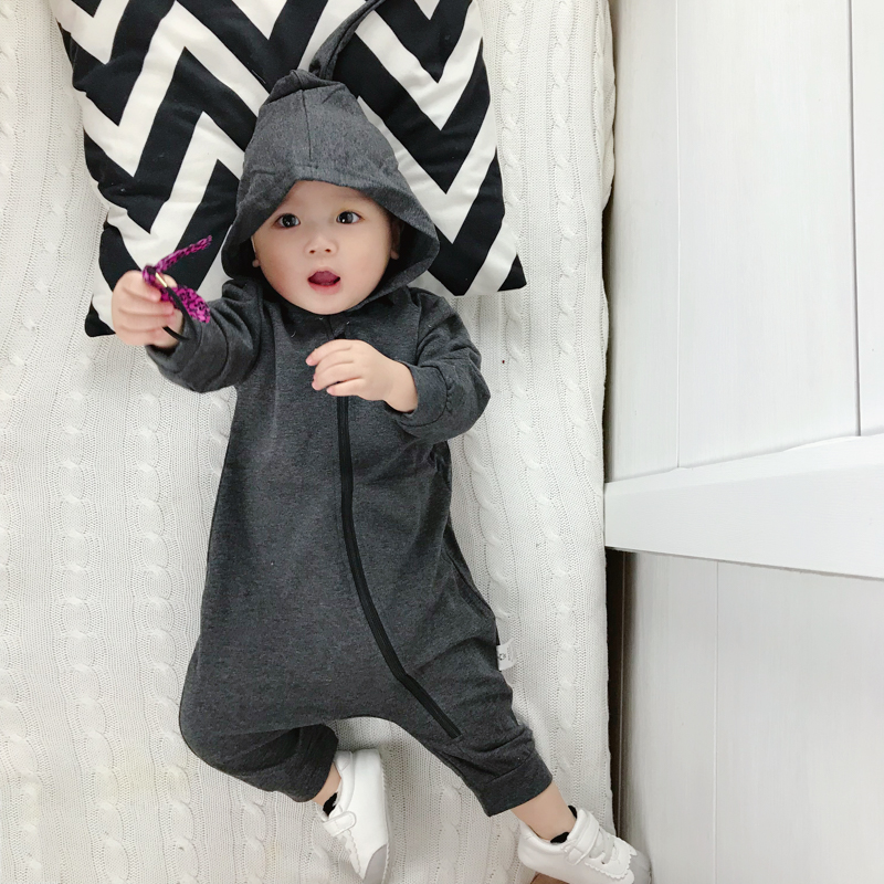 Baby Clothing Winter Wear Siamese Newborn Cotton Clothes Jumpsuit Romper