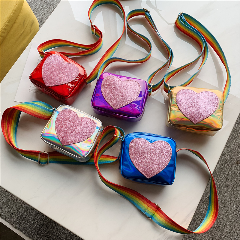 Kids Bags Girls Children\'s Cute Messenger Shoulder Princess Fashion Mini Bags