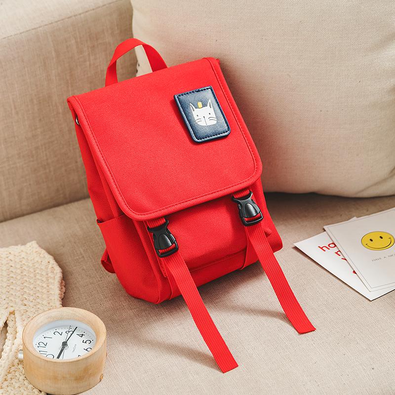 Kids Bags Girls Children's Canvas Backpack Toddlers Cute Big Travel School Bag