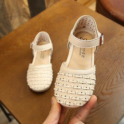 Kids Shoes Girls Flats Summer Spring Sandals Soft Bottom Cute Casual Footwear