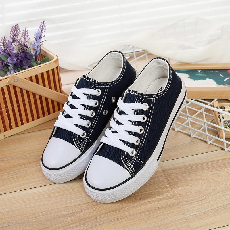 Kids Shoes Boys Children's Sneakers Canvas Children's Comfortable Flats Shoes