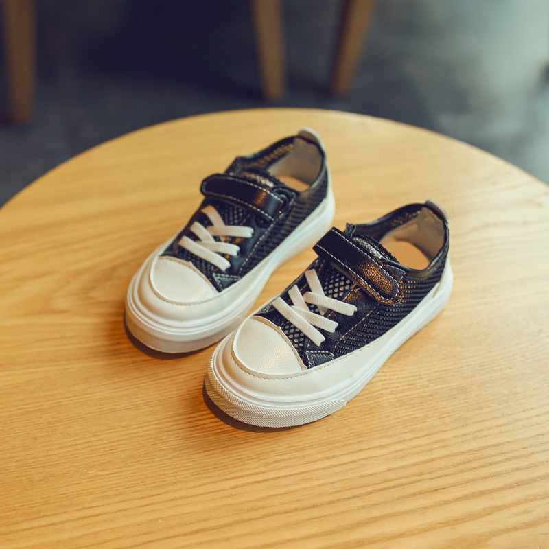 Kids Shoes Boys Canvas Children's New Mesh Flats Casual Sports Summer Sneakers