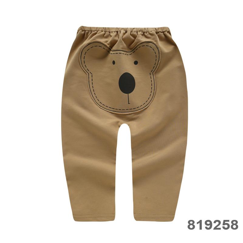 Baby Clothing Bottoms Children\'s Newborn Soft Cotton Cartoon Style Pants Outwear