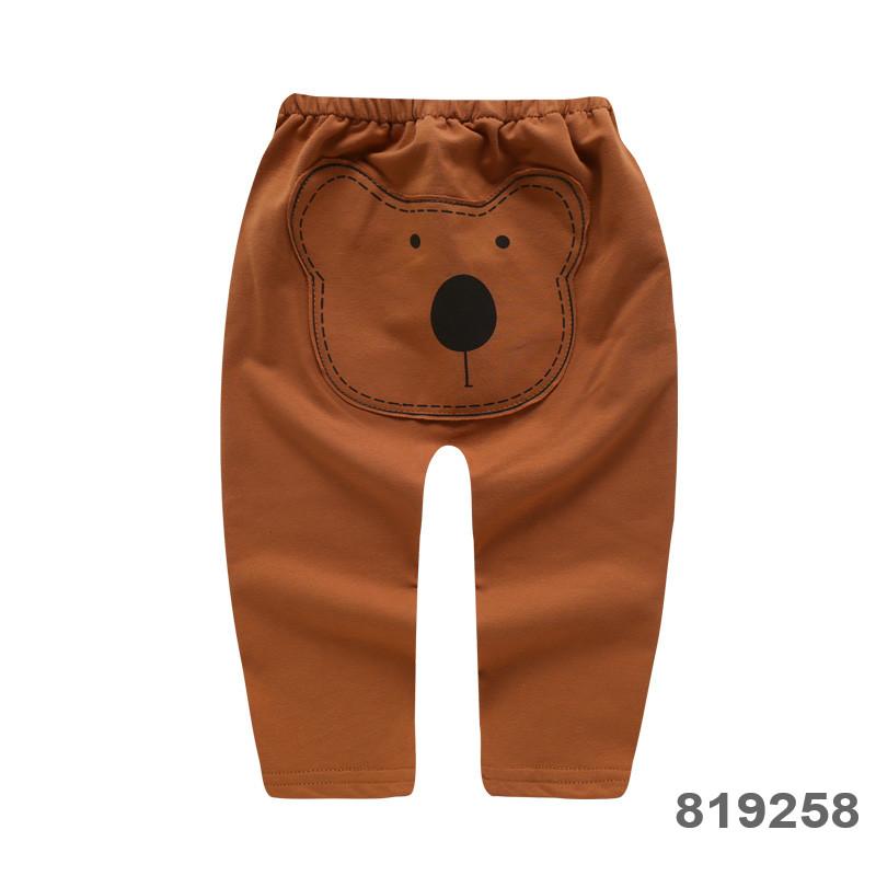 Baby Clothing Bottoms Children's Newborn Soft Cotton Cartoon Style Pants Outwear