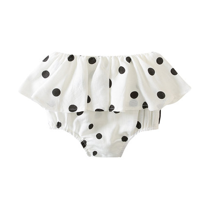 Baby Clothing Bottoms Polka Dots Style Cotton Summer Cute Newborn Clothes