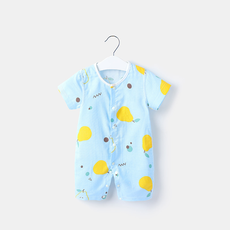 Baby Clothing Sleepwear Soft Cotton Newborn Clothes Jumpsuit Romper Night Wear