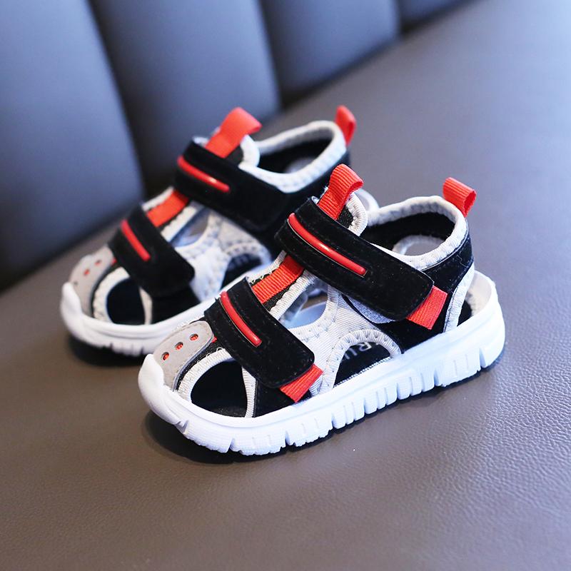 Kids Shoes Boys Male Sandals Children's Soft Bottom Summer Comfortable Footwear