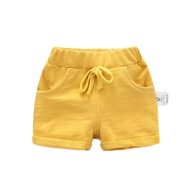 Baby Clothing Bottoms Cotton Summer Shorts With Pockets Children\'s Casual Shorts