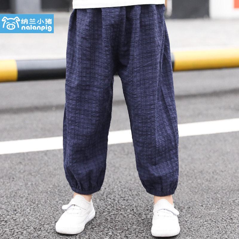 Kids Clothing Boys Bottoms Children\'s Cotton Summer Jogger Pants Male Outwear