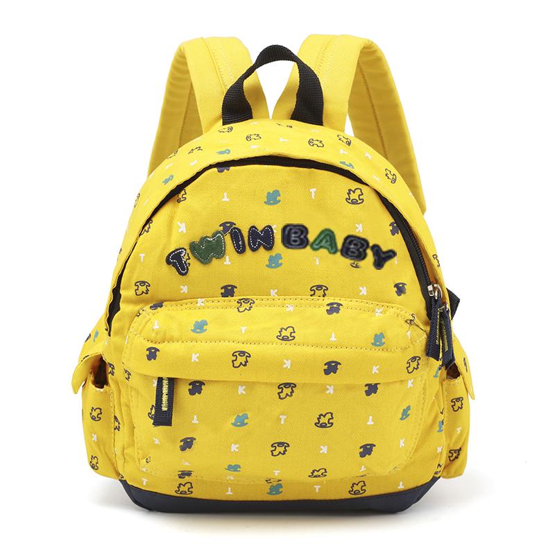 Kids Bags Girls Canvas Cute Children\'s Backpack School Kindergarten Cartoon Bags