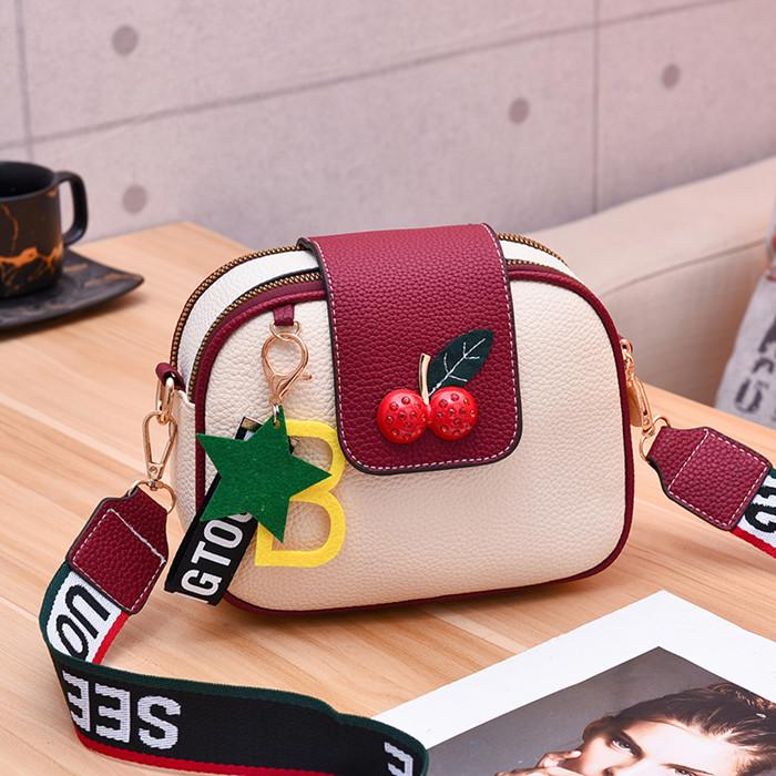 Kids Bags Girls Korean Cute Fashion Girl Big Child Shoulder Bag
