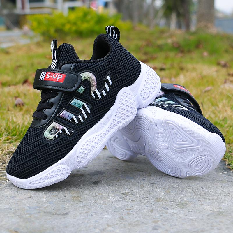 Kids Shoes Girls Mesh Children's Rubber Sneakers Sport Wear Running Shoes