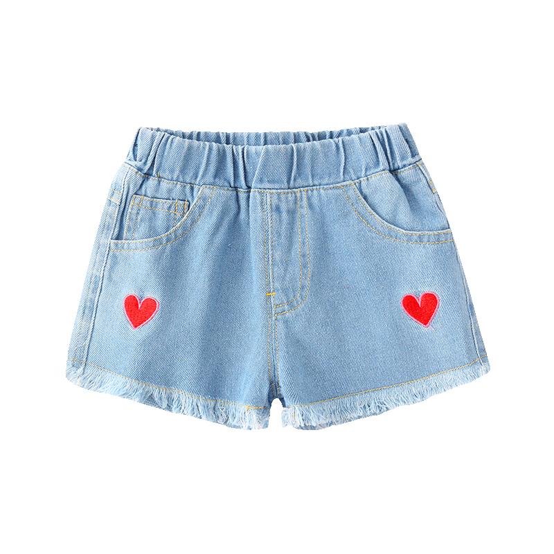 Baby Clothing Bottoms Denim Girls Denim Tattered Shorts Summer Clothes Outwear