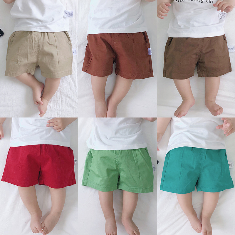 Baby Clothing Bottoms Children\'s Summer Newborn Cute Cotton Shorts Outwear