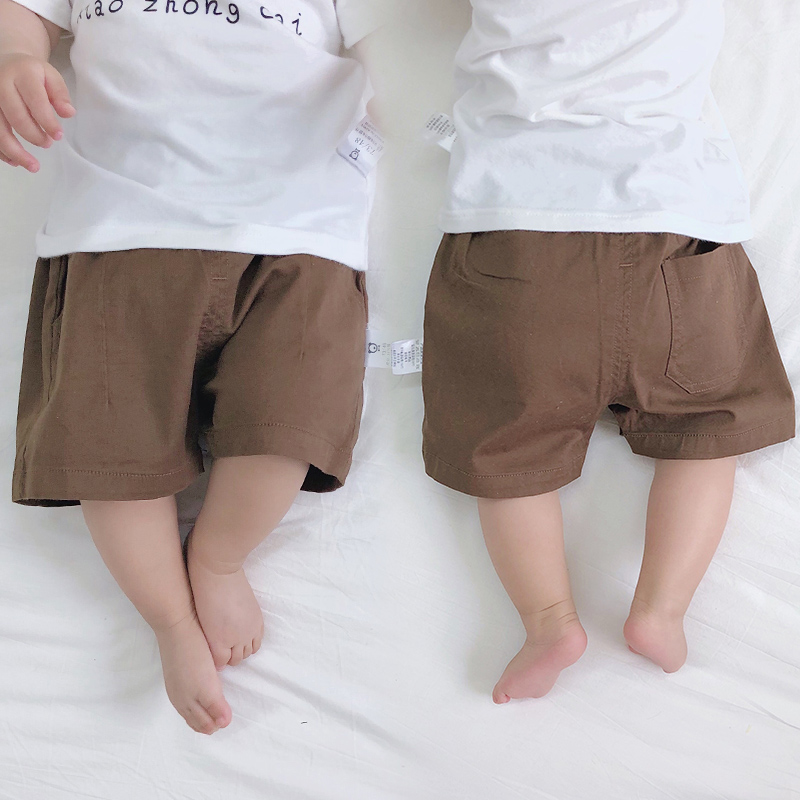 Baby Clothing Bottoms Children's Summer Newborn Cute Cotton Shorts Outwear