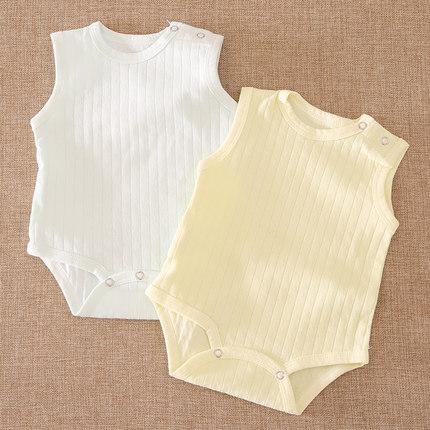 Baby Clothing Sleepwear Newborn Sleeveless Romper Soft Cotton Night Wear
