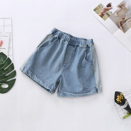 Kids Clothing Girls Bottoms Denim Shorts Stylish Children's Summer Outwear