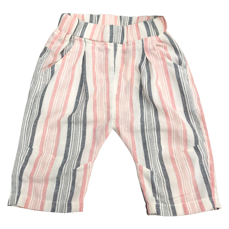 Kids Clothing Boys Bottoms Cute Summer Autumn Cotton Children's Male Pants