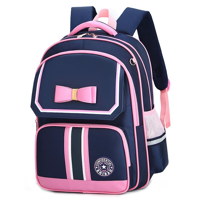 Kids Bags Girls School Bag Children\'s Large Backpack Bow Design