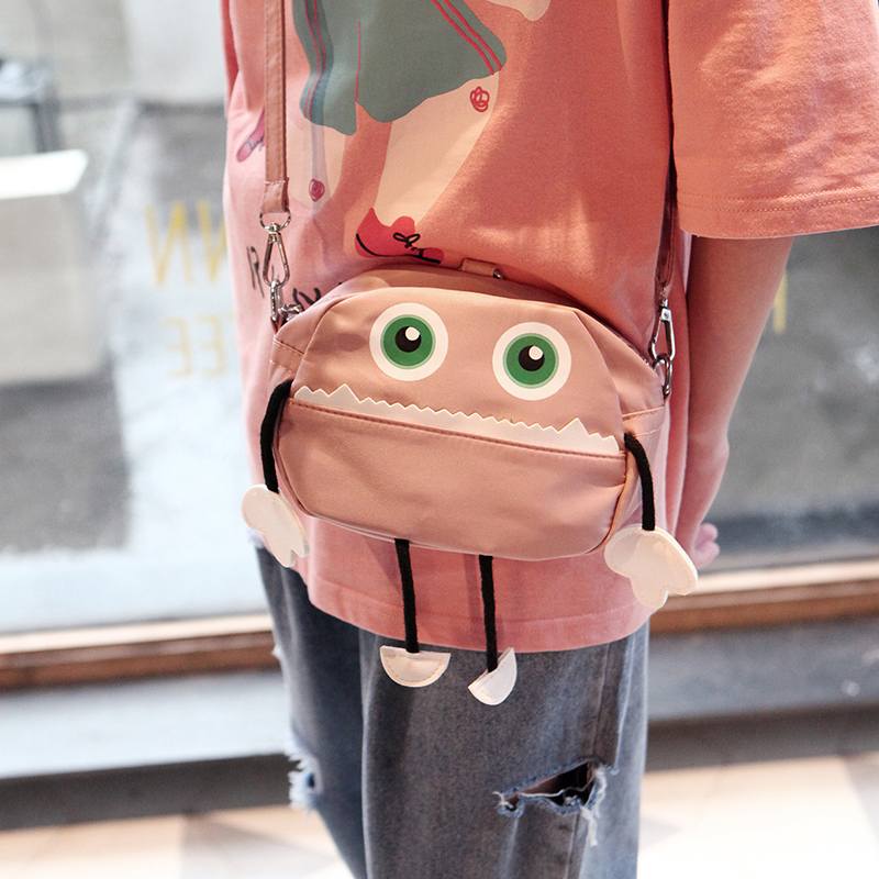Kids Bags Girls Shoulder Sling Cute Small Messenger Cartoon Style Pouch