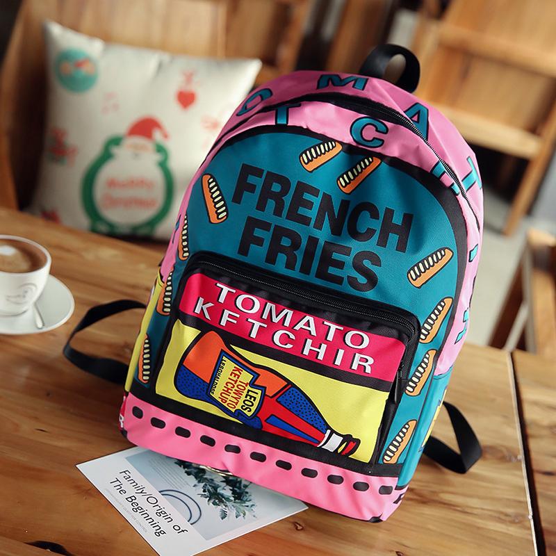 Kids Bags Boys Cartoon Male Backpack School Travel Bags