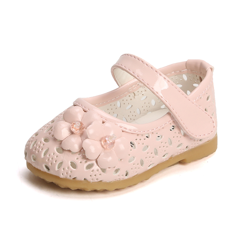 Kids Shoes Girls Cute Princess Children Doll Flats Soft Bottom Casual Sandals