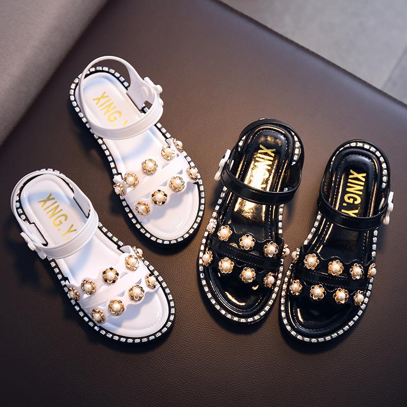 Kids Shoes Girls Soft Bottom Sandals Comfortable Children\'s Rubber Footwear