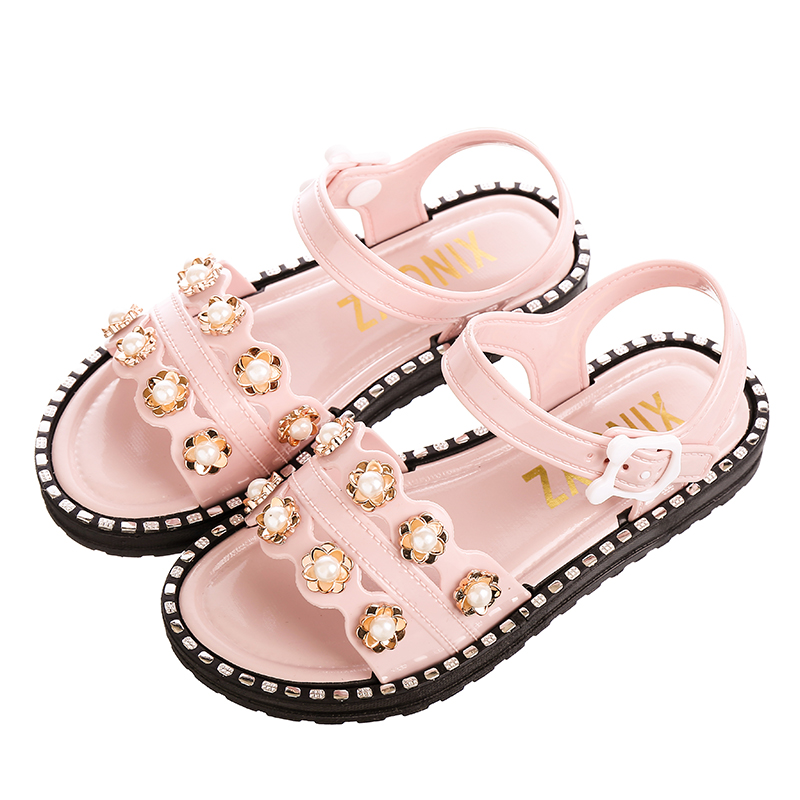 Kids Shoes Girls Soft Bottom Sandals Comfortable Children's Rubber Footwear