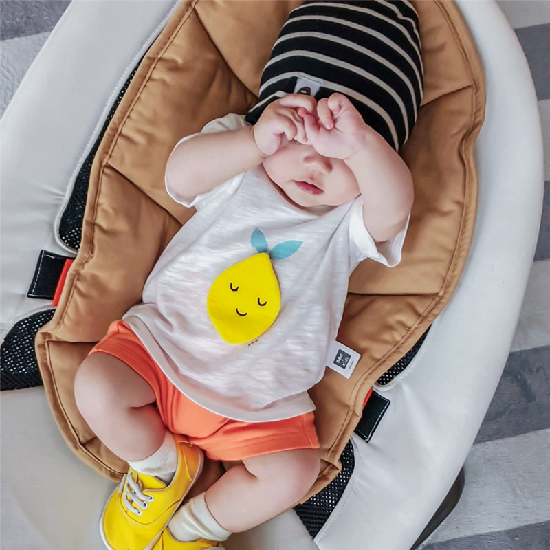 Baby Clothing Tops Cotton Short Sleeved Newborn Summer T- Shirts