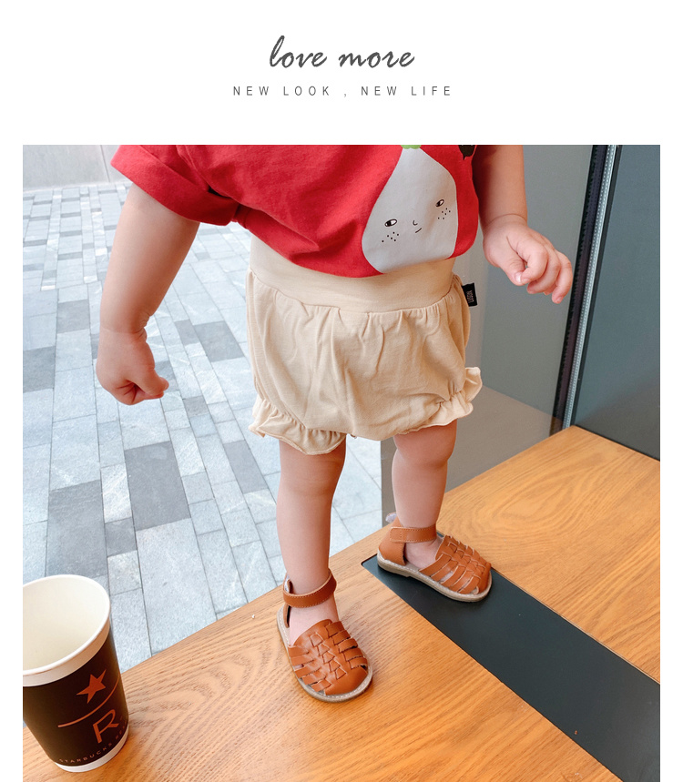 Baby Clothing Bottoms Soft Cotton Newborn Summer Spring Shorts Outfits
