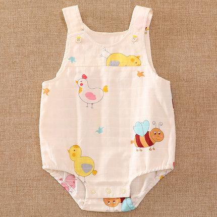 Baby Clothing Sleepwear Soft Cotton Summer Spring Newborn Night Wear Rompers