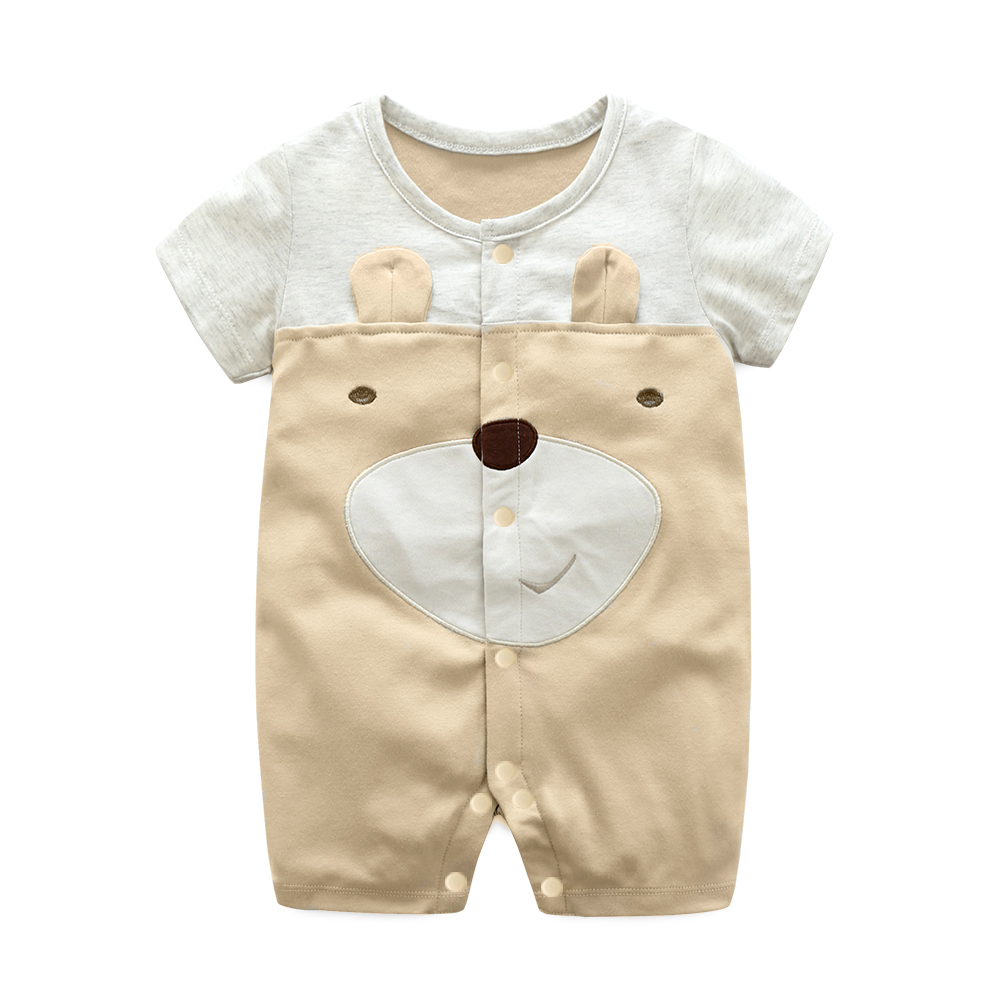 Baby Clothing Sleepwear Soft Cotton Newborn Romper Cartoon Design Night Wear