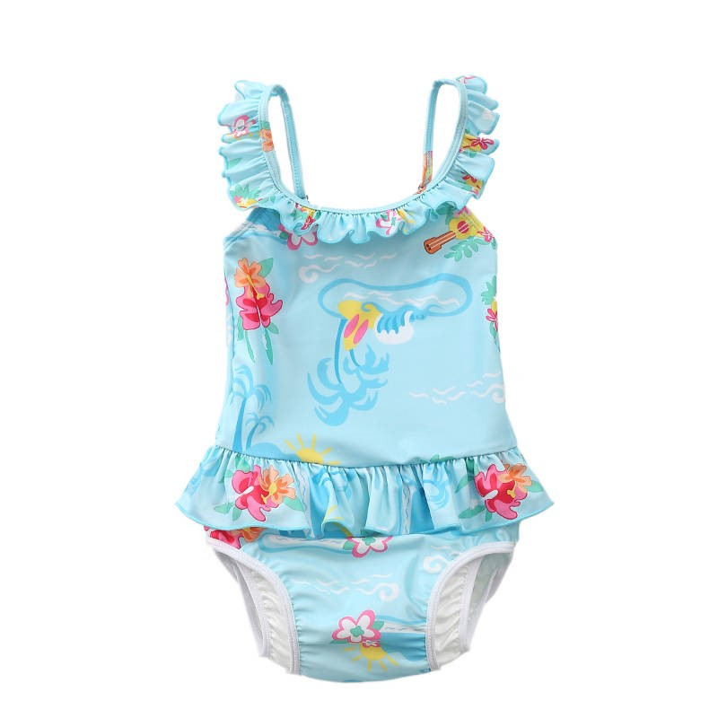 Baby Clothing Swimwear One Piece Girls Swimsuit Beach Summer Outfits
