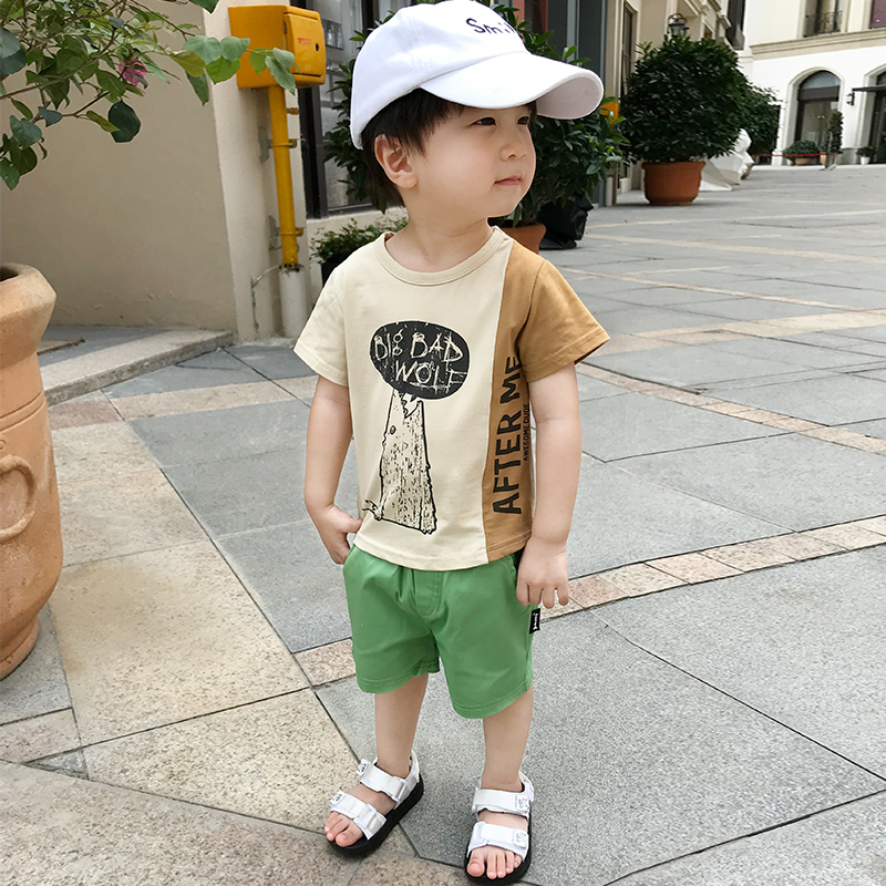 Kids Clothing Boys Bottoms Summer Cotton Shorts Children\'s Male Outfits