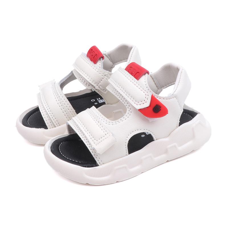 Kids Shoes Boys Male Flats Sandals Soft Bottom Children's Rubber Footwear