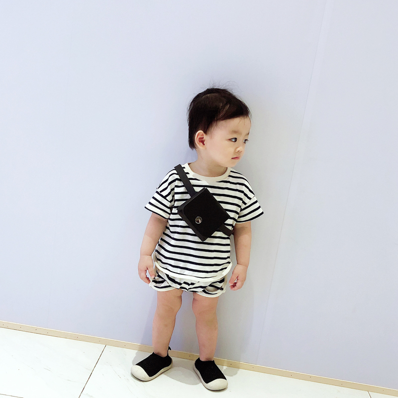 Kids Bags Boys Children's Male Shoulder Sling Mini Messenger Leather Bag