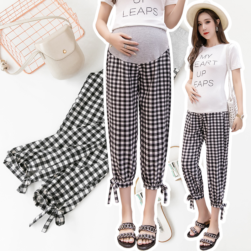 Maternity Clothing Abdominal Pants Loose Autumn Pregnant Women Wear