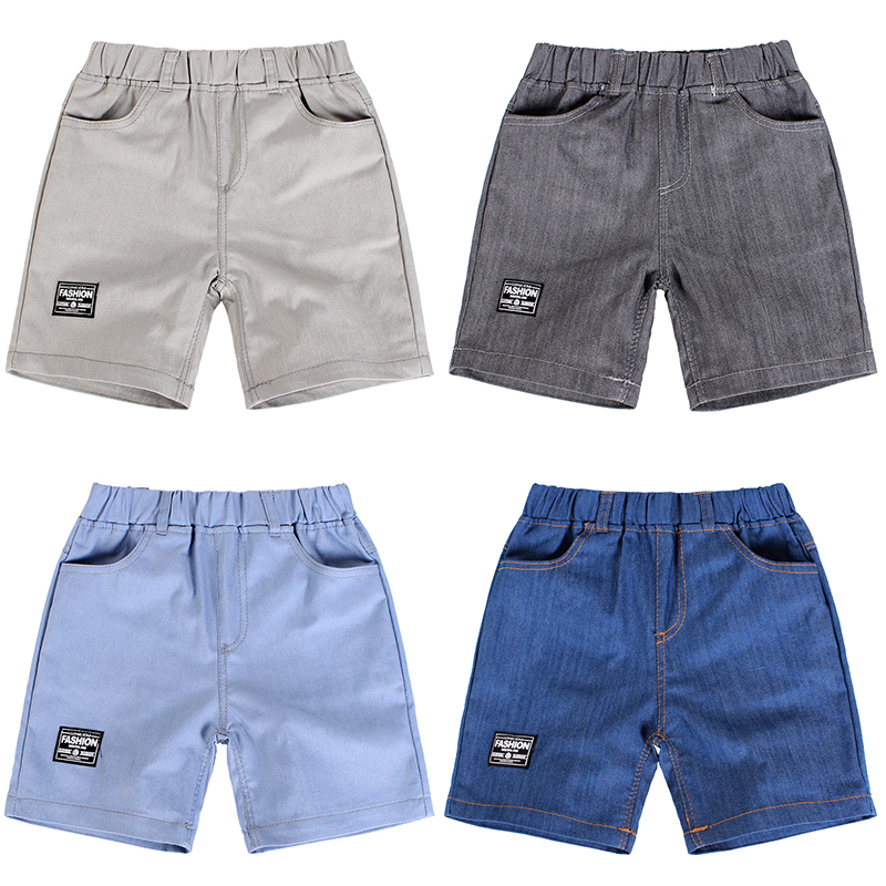 Kids Clothing Boys Bottoms Children\'s Summer Denim Male Shorts Casual Outwear