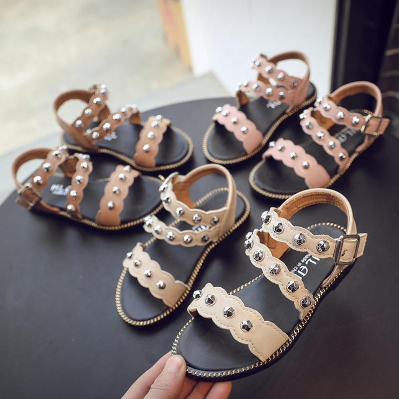 Kids Shoes Girls Flats Sandals Children\'s Female Casual Summer Footwear
