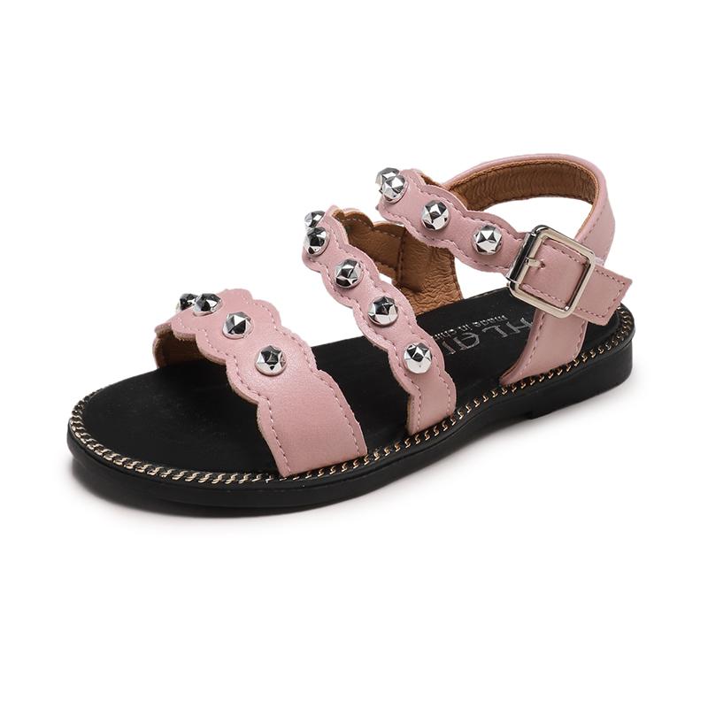 Kids Shoes Girls Flats Sandals Children's Female Casual Summer Footwear