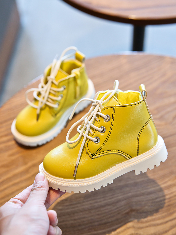 Kids Shoes Girls Snow Boots Soft Female Winter Casual Non-Slip Footwear