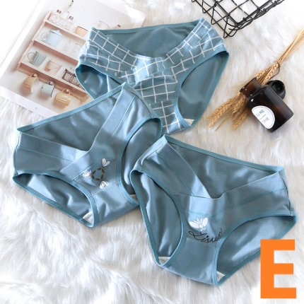 Maternity Clothing Cotton Low Waist Large Comfortable Underwear