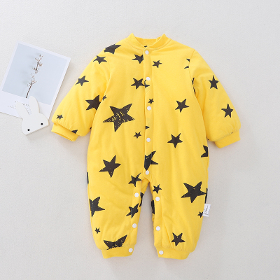 Baby Clothing Quilted Pure Warm Confinement Jumpsuit