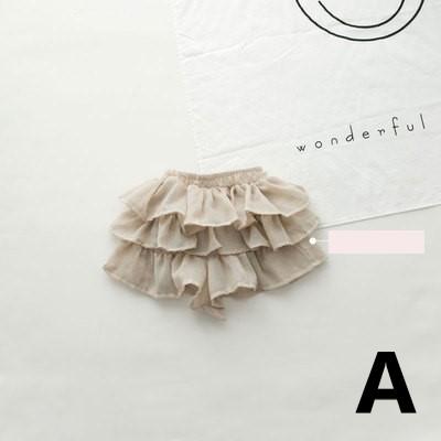 Baby Clothing Thin Cotton Linen Cake Skirt