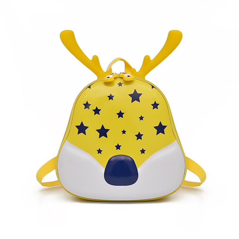 Kids Fashion 3D Deer Toddler Anti-lost Backpack