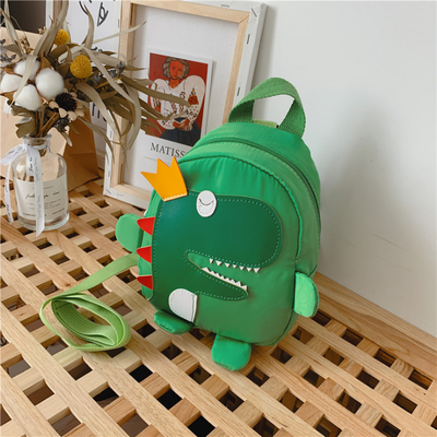 Kids Fashion Cute Dinosaur Anti-lost Backpack