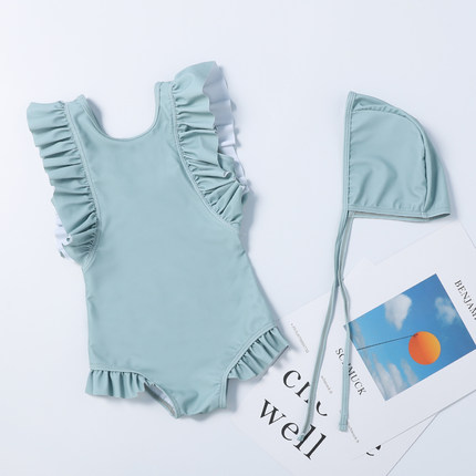 Baby Clothing Cute Princess Child Korean Style Swimsuit