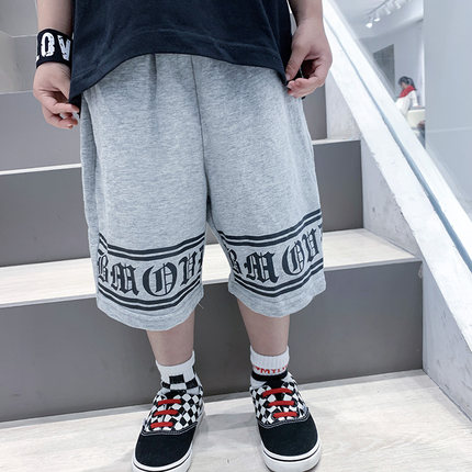Kids Clothing Boy Summer Five-point Casual Pants