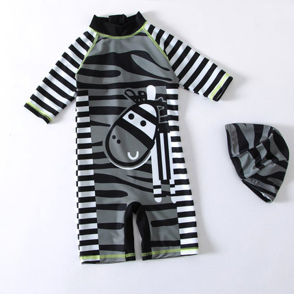 Baby Clothing Small Zebra Quick-drying Swim Trunks