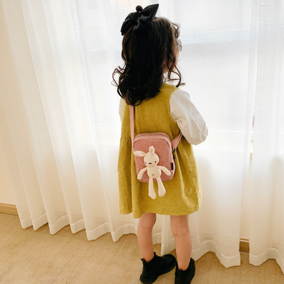 Kids Cute Rabbit Fashion Kindergarten Backpack
